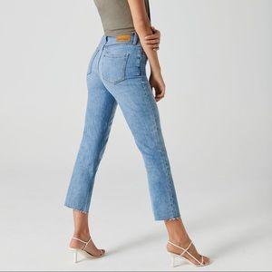 Denim Forum Arlo High Rise Straight Jeans